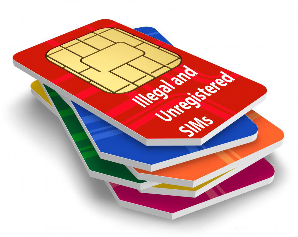 illegal and unregistered SIMs mobile phone companies Pakistan