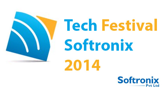 technology tech festival, Softronix 2014, at Government College University (GCU)