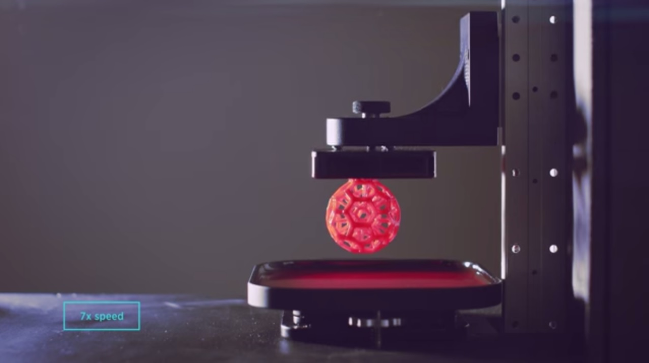 Liquid 3D printing  Process CLIP Technology Continuous Liquid Interface Production online services