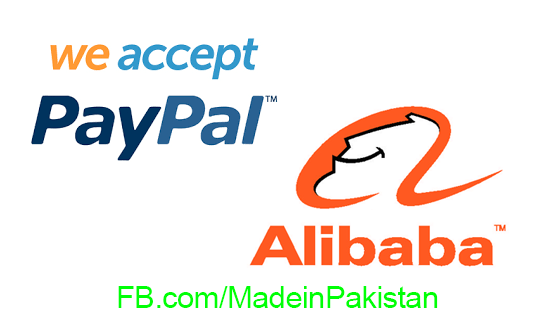 PayPal and Alibaba online pymaent serivces in pakistan karachi lahore islamabad